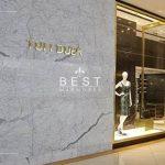 Fachada em mármore Tufi Duek Shopping Iguatemi