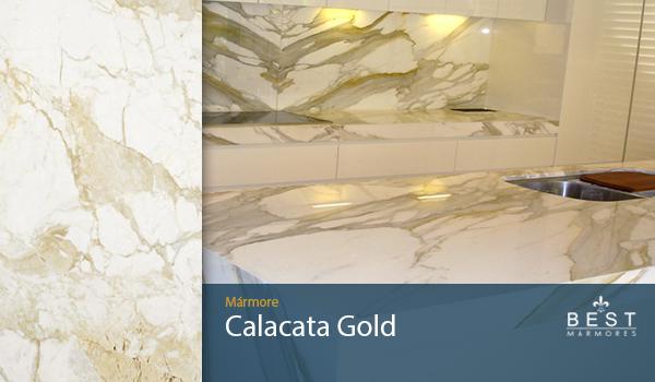 Mármore Calacata Gold