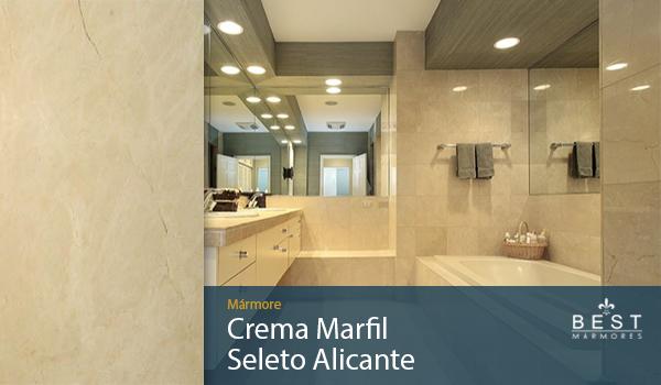 Mármore Crema Marfil Seleto Alicante