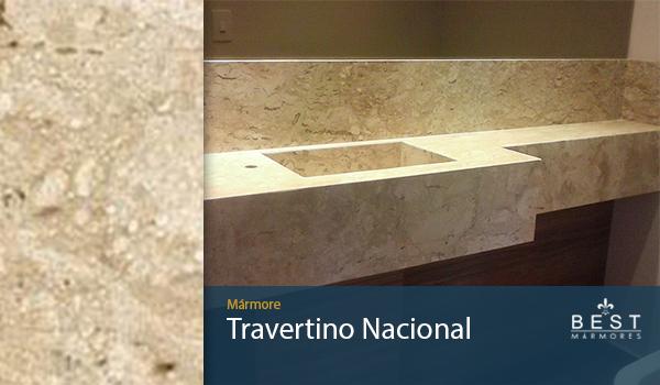 Mármore Travertino Nacional